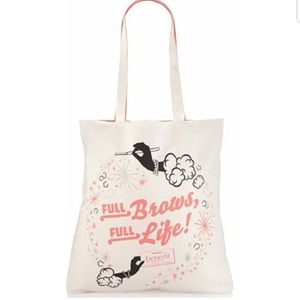 Benefit Full Brows Full Life Tote Bag
